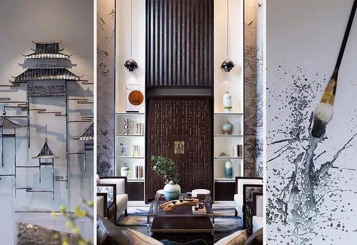 琴棋书画,诗酒花茶——新中式别墅样板房设计