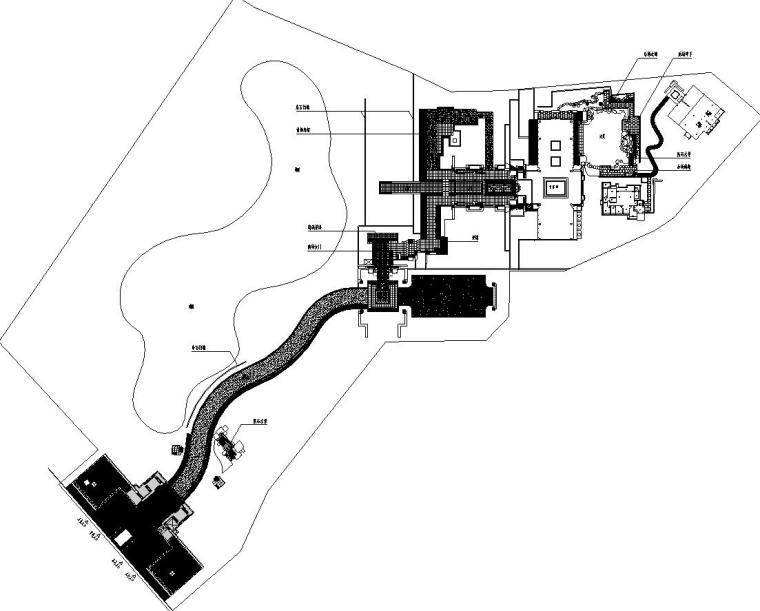 [重庆]九里晴川示范区园建施工图设计(CAD)