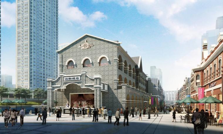 [江苏]后现代感武汉万达中央文化旅游区项目建筑设计方案文本_6