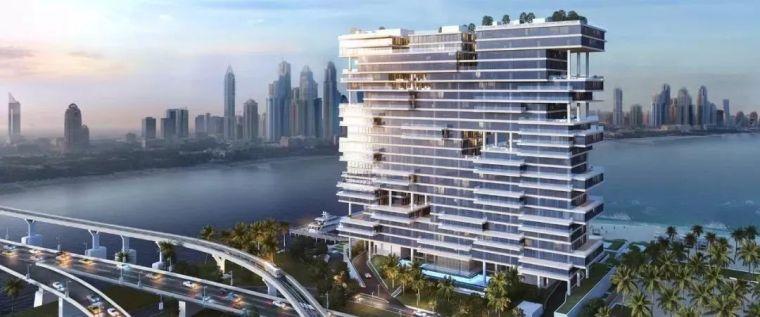 """迪拜造了""""天空中的别墅"""",最小户型300平米,顶层复式卖3.4亿_2"""