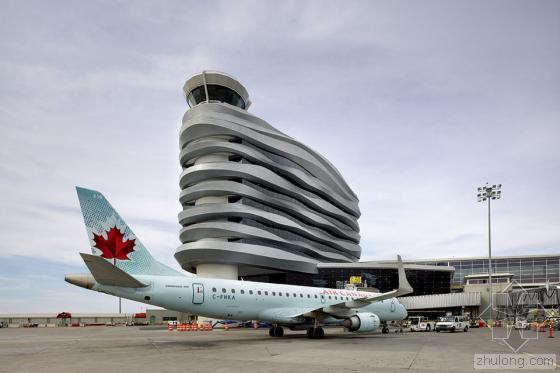 加拿大埃德蒙顿国际机场综合办公楼_7