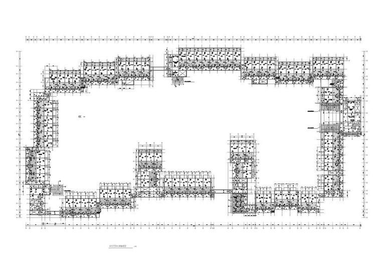 [无锡]知名地产六星级框架结构酒店结构施工图