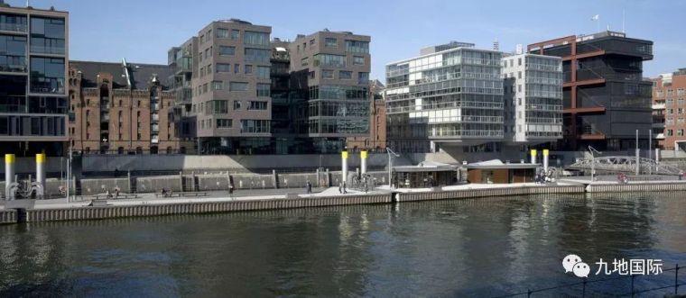 滨水景观 | 德国汉堡Hafencity 滨水城市公共空间景观设计