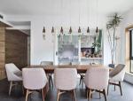 餐厅设计实例实用且颜值高,朋友来家做客被夸红了脸~