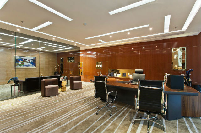 #办公楼#佛山:禅城绿地中心办公楼室内设计_6