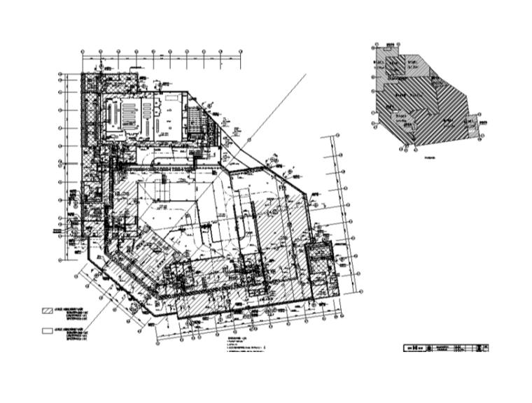 某大型医院室内装修设计施工图修改图(30张)