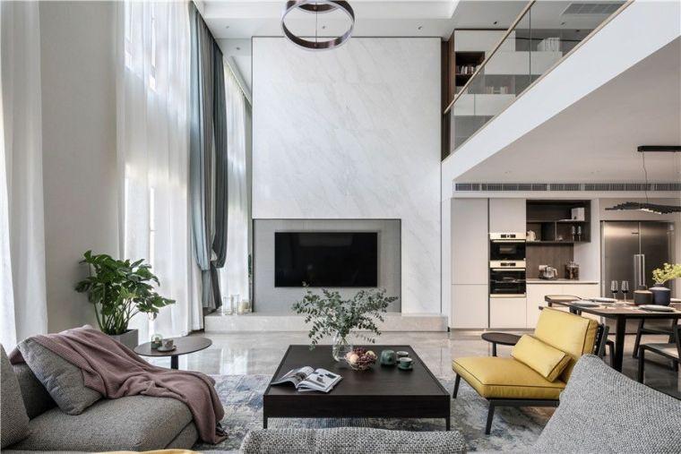 330㎡现代5室2厅洋房,一个让人放松身心的港湾