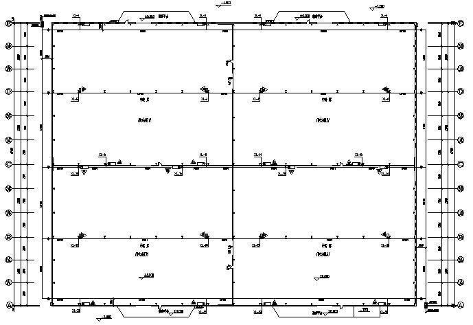 成都门式刚架钢结构工程施工图(CAD,全套)_7
