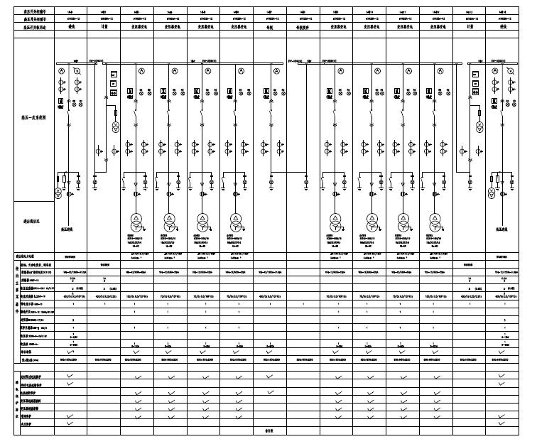 湖南办公塔楼及商业裙房电气施工图