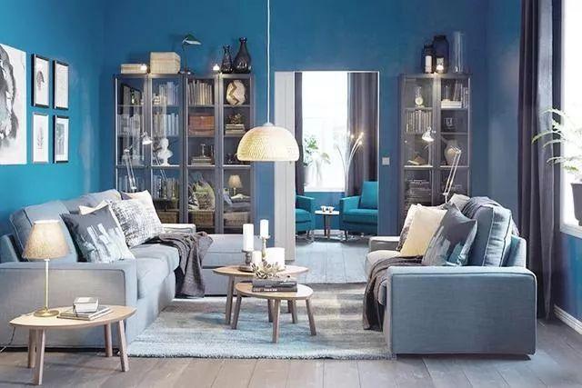 你不知道的客厅彩色沙发,给你不一样的格调。_2