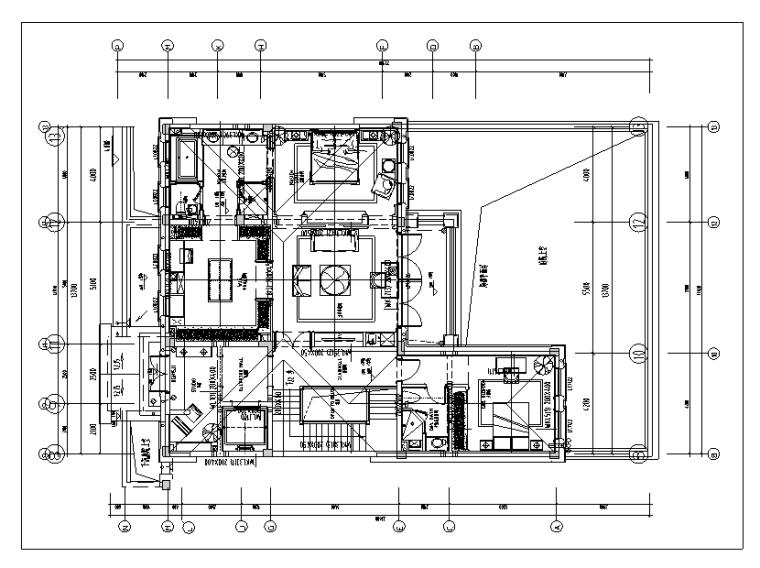 [浙江]绿城玫瑰园法式合院住宅设计施工图(附效果图)