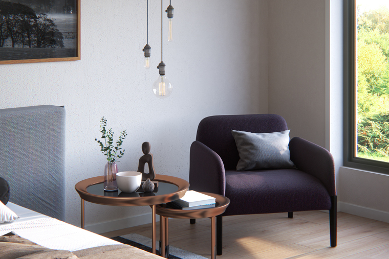 别致且优雅的北欧风公寓_10