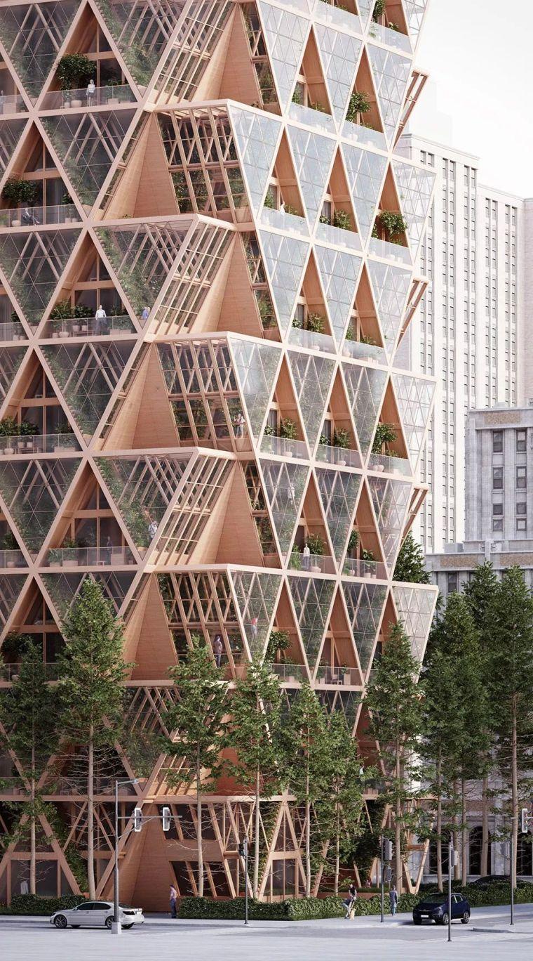 拥有独立生态系统的大楼-城市中的垂直农场_10