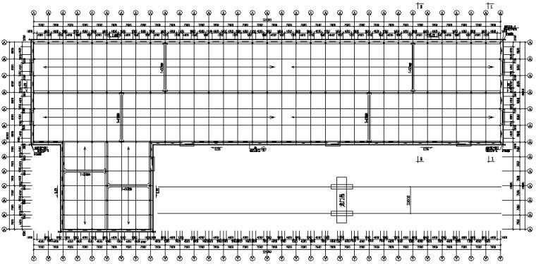 单跨门式刚架厂房工程施工图(CAD,24张,含建施)