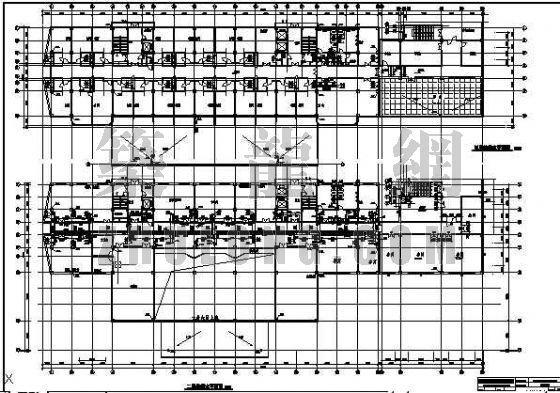 某十层综合大楼给排水全图
