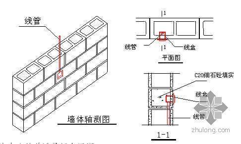 北京某办公楼轻集料混凝土空心砌块施工技术交底