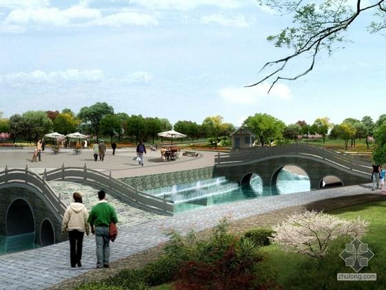 江西小广场规划设计效果图