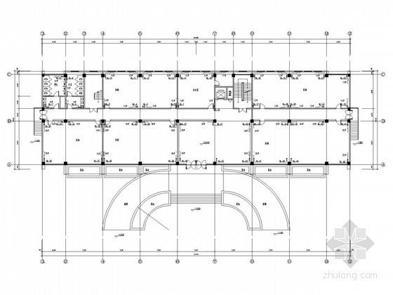 [山东]工业厂房建筑水暖图纸