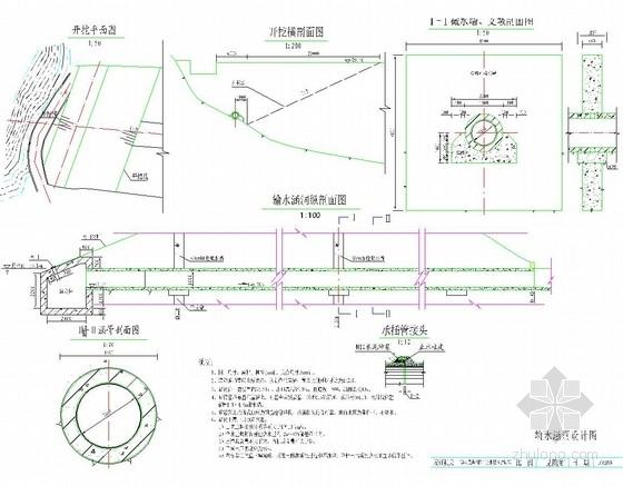 输水涵洞设计图