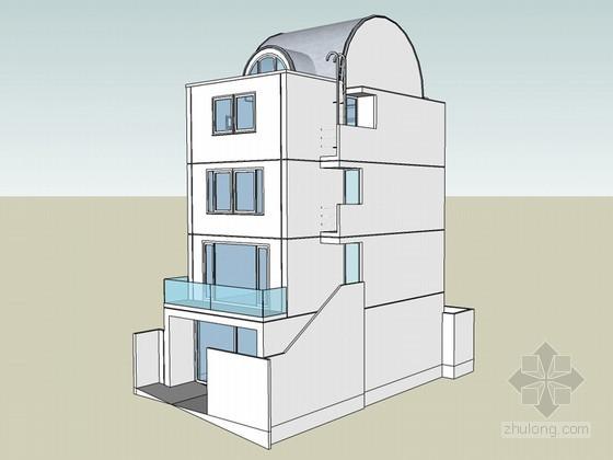 住宅别墅SketchUp模型下载