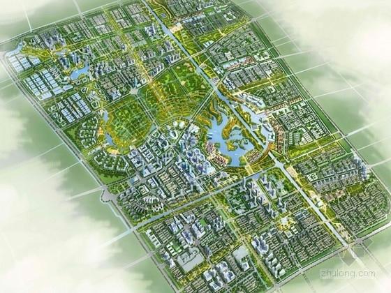 [上海]南桥低碳产业园区规划及单体设计方案文本