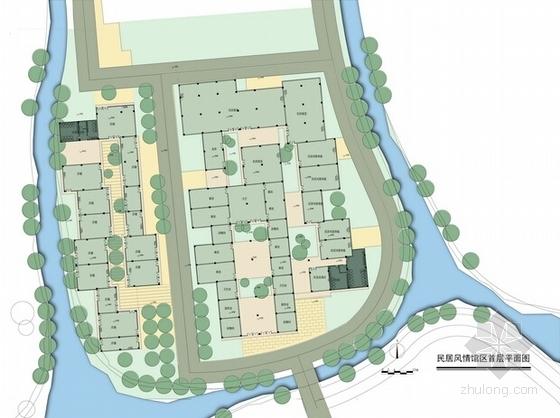 [广东]岭南水乡旅游文化街区概念规划设计方案文本-岭南水乡旅游文化街区概念规划平面图