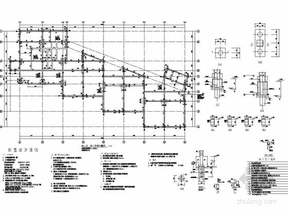 [深圳]三层框架结构幼儿园结构施工图