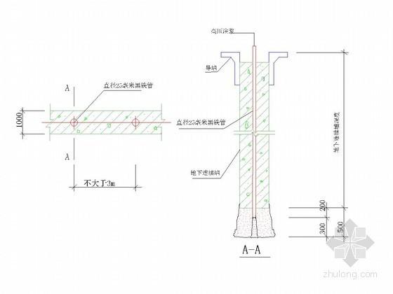 [杭州]地铁深基坑地下连续墙围护施工方案(节点图丰富)
