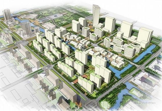 [江苏]滨水商业街规划及单体设计方案文本(知名设计院)