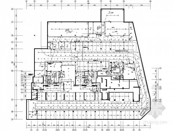 [江苏]一类高层商住楼全套电气施工图纸(含塔楼,28层,96.7米)