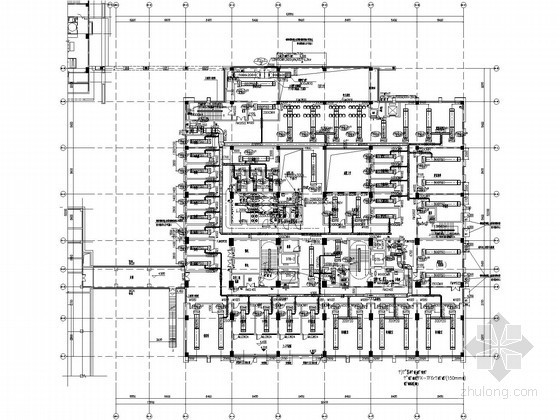 [苏州]医护楼空调通风设计全套施工图纸(含人防通风设计)