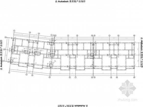 六层底框商住楼结构施工图