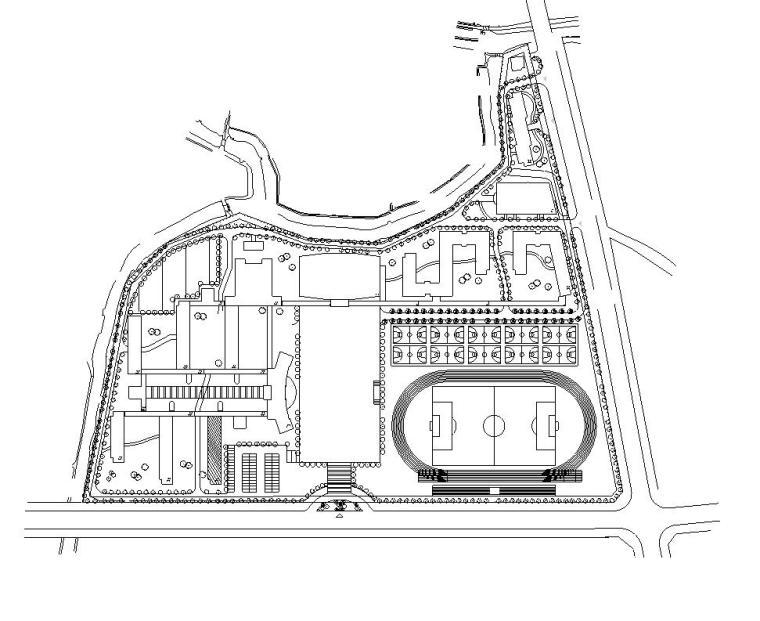 [广东]深圳实验中学教学楼毕业设计(计算书、建筑、结构图)