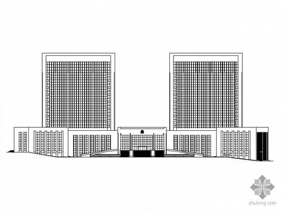 某十二层安保中心建筑施工图