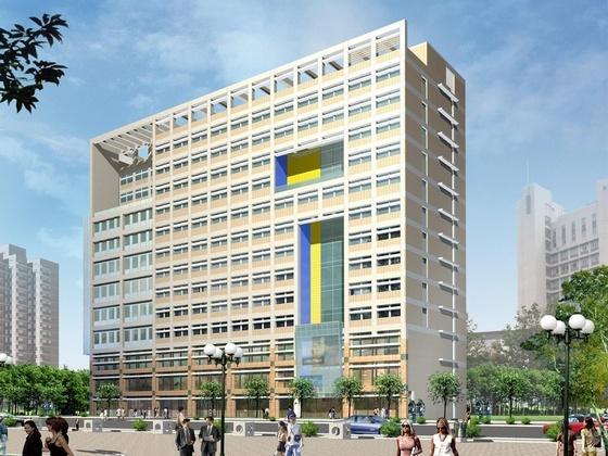 江苏某学院教科研综合大楼方案设计文本