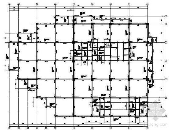 某28层高楼及地下室结构图纸