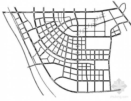 抚州某开发区排水主干管施工图设计