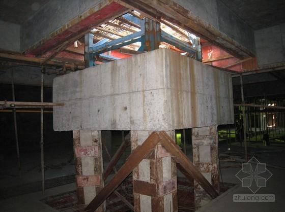 建筑工程回字型钢格构柱塔机基础施工工法(附计算书)