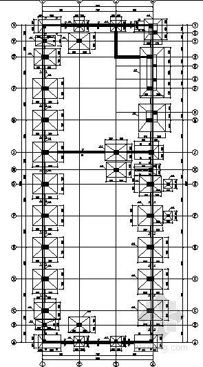 2层框架结构展览馆结构施工图(预应力梁)
