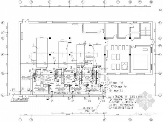 [黑龙江]锅炉房工艺及采暖给排水设计施工图