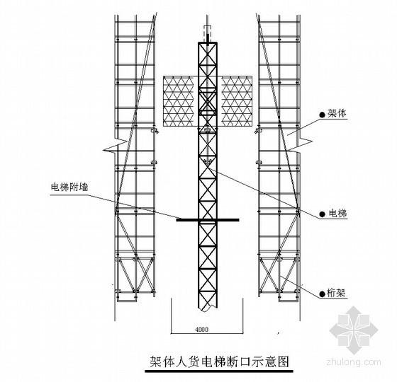 高层住宅HFA-99型附着式电动升降整体脚手架施工方案