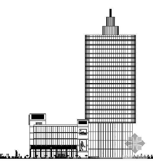 [城建毕业设计]某二十八层高层综合楼设计方案及施工图