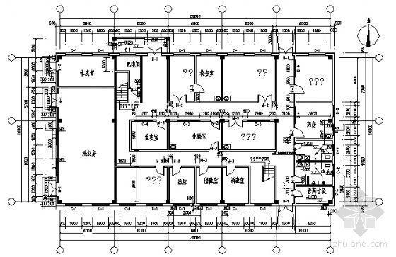 某二层医务所建筑方案图-3