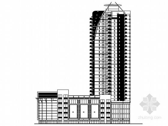 某三十二层商品住宅楼建筑施工图