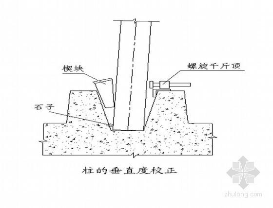 预制混凝土柱吊装专项方案(30吨)