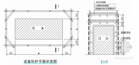 四川某办公楼加固改造工程施工组织设计