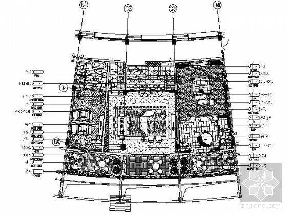[三亚]主题酒店D1型豪华客房施工图