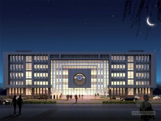 [山西]现代风格大学实验楼建筑设计方案文本