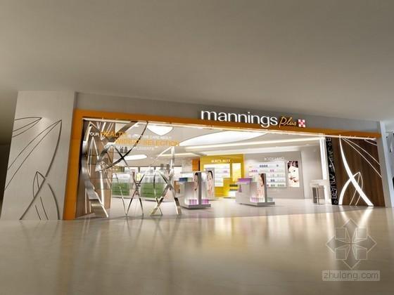 某生活超市店面设计3d模型下载