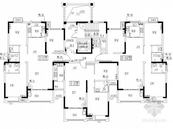 [河南]高层住宅楼给排水消防施工图